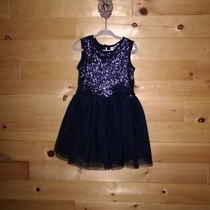 Blossom Couture Sequins & Tulle Dress~Size 2T